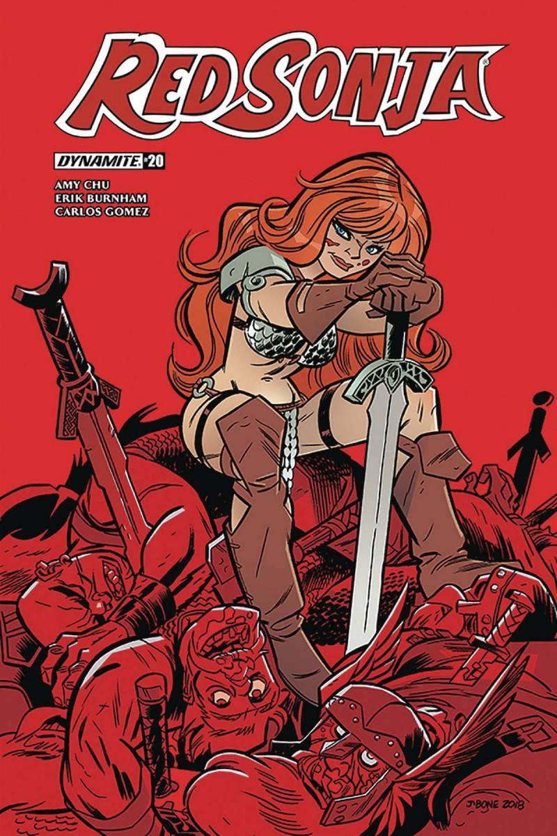 Red Sonja V7 #20 CVR D Bone