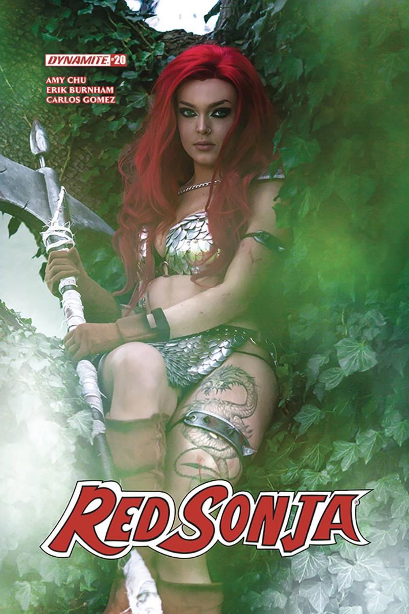 Red Sonja V7 #20 CVR E Cosplay