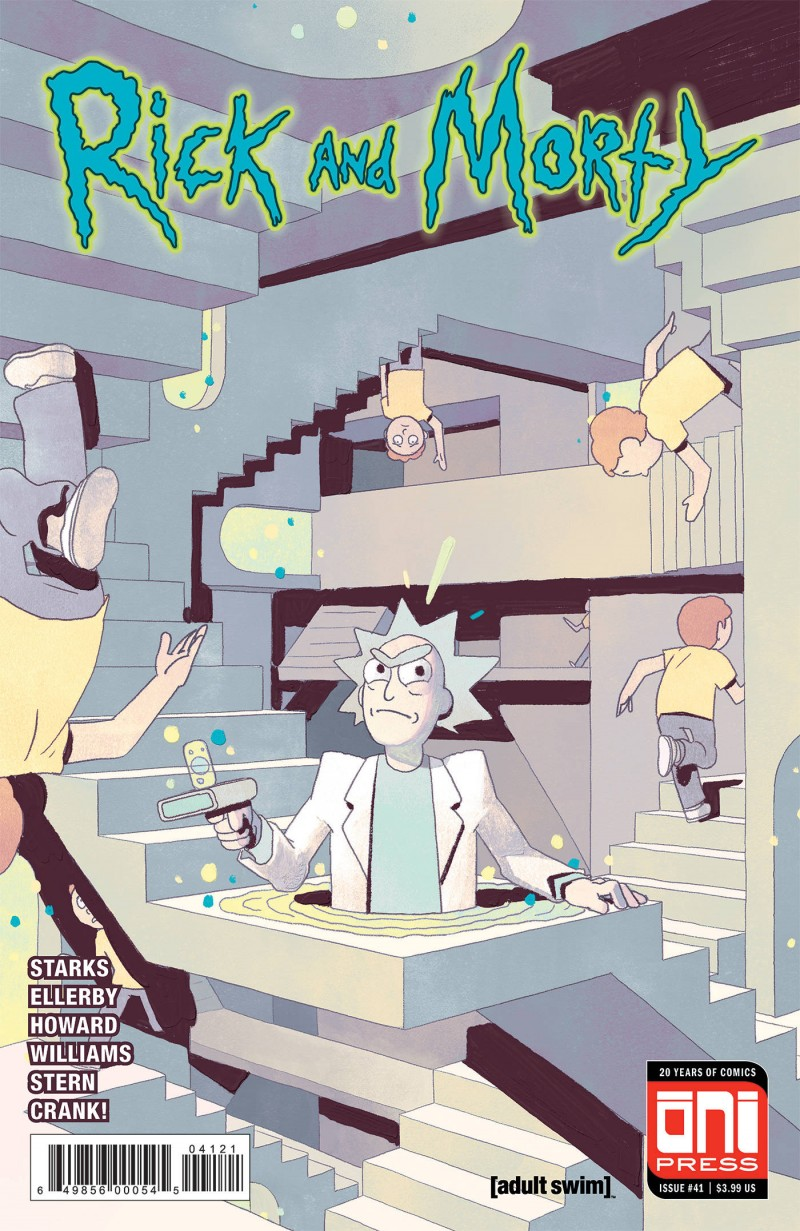 Rick and Morty #41 CVR B