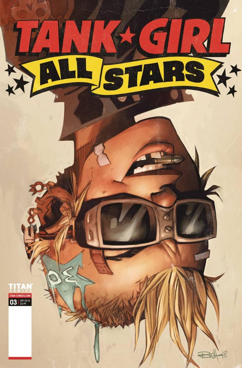 Tank Girl All Stars #3 CVR A Parson