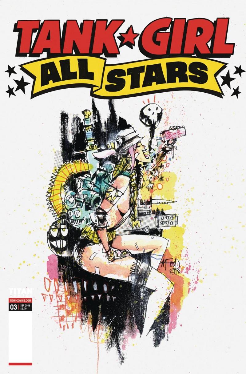 Tank Girl All Stars #3 CVR C Mahfood
