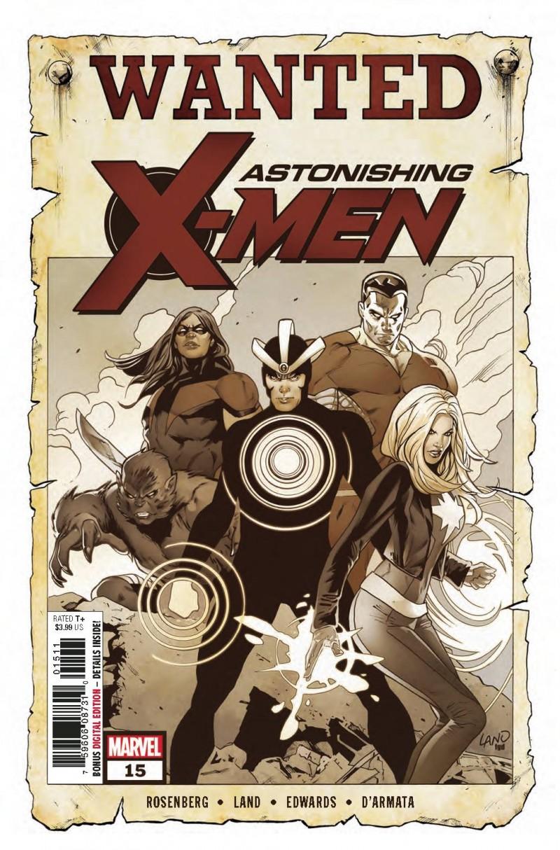 Astonishing X-Men V4 #15