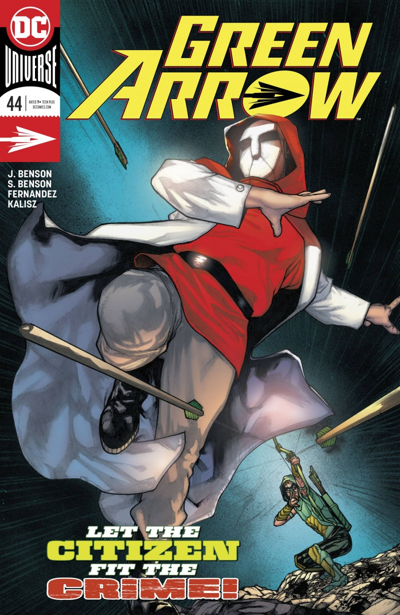 Green Arrow  #44 CVR A