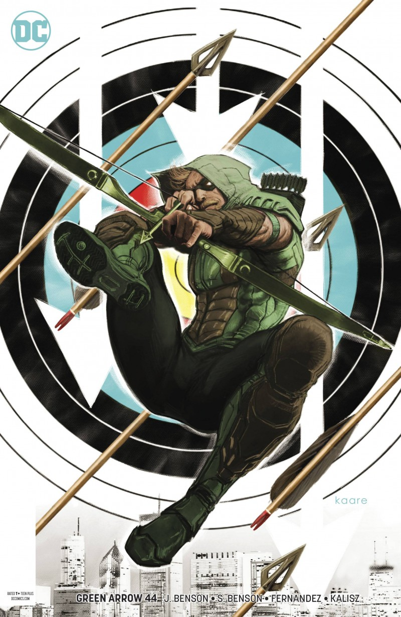 Green Arrow V7 #44 CVR B