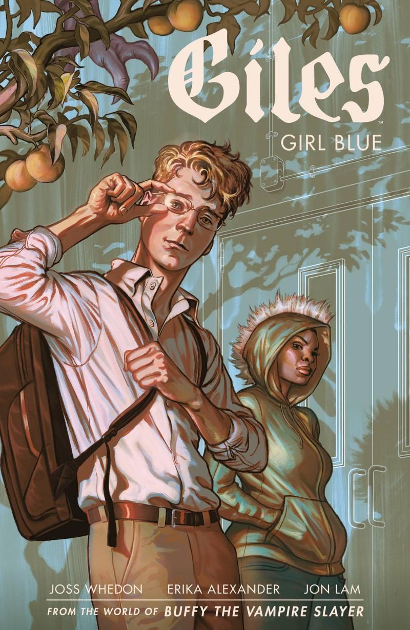 BTVS TP Season 11 Giles Girl Blue V1
