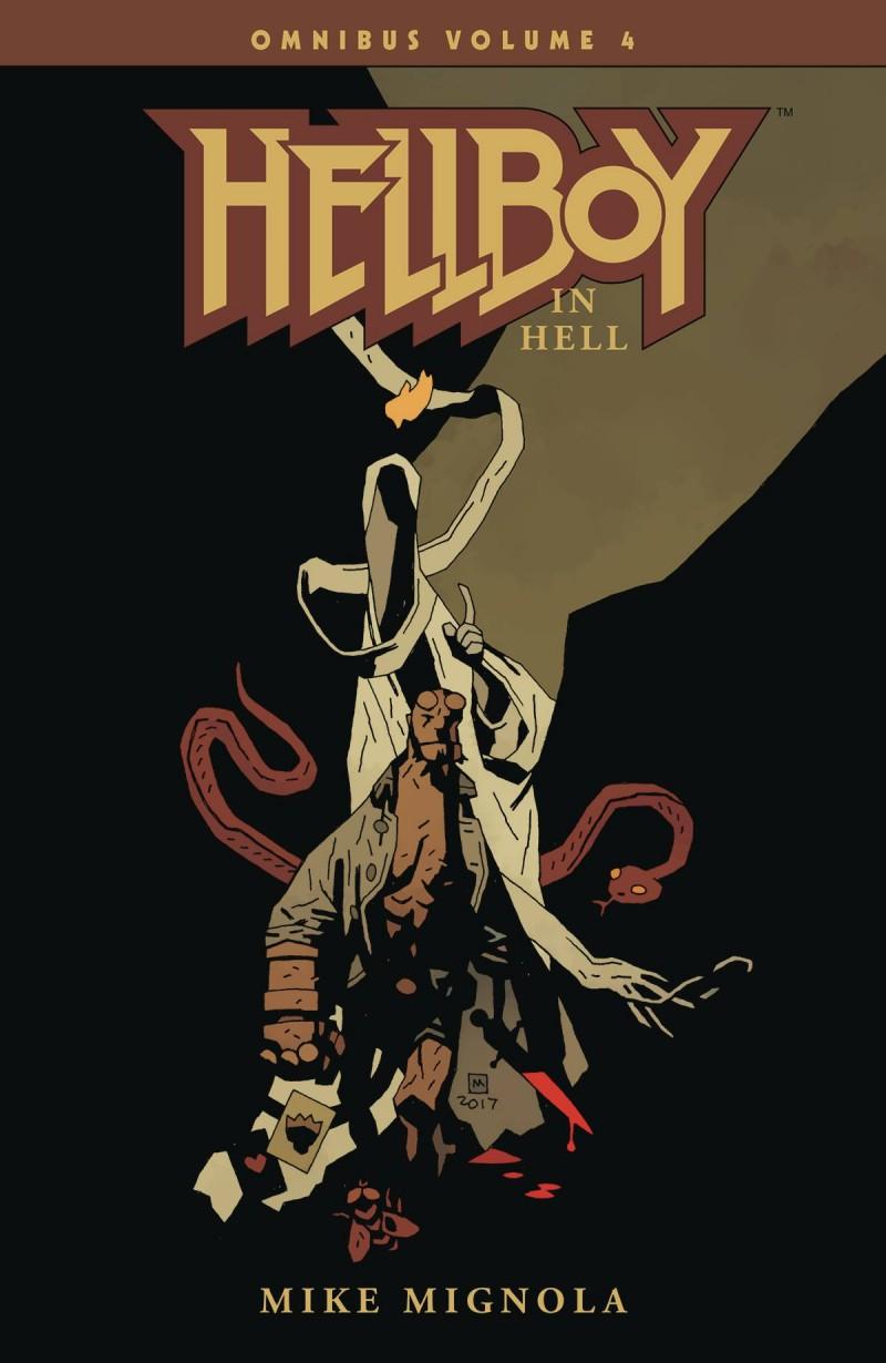 Hellboy TP Omnibus Edition V4 Hellboy in Hell