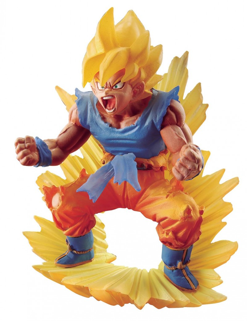 Dragon Ball Super Memorial PVC Statue SS Son Goku