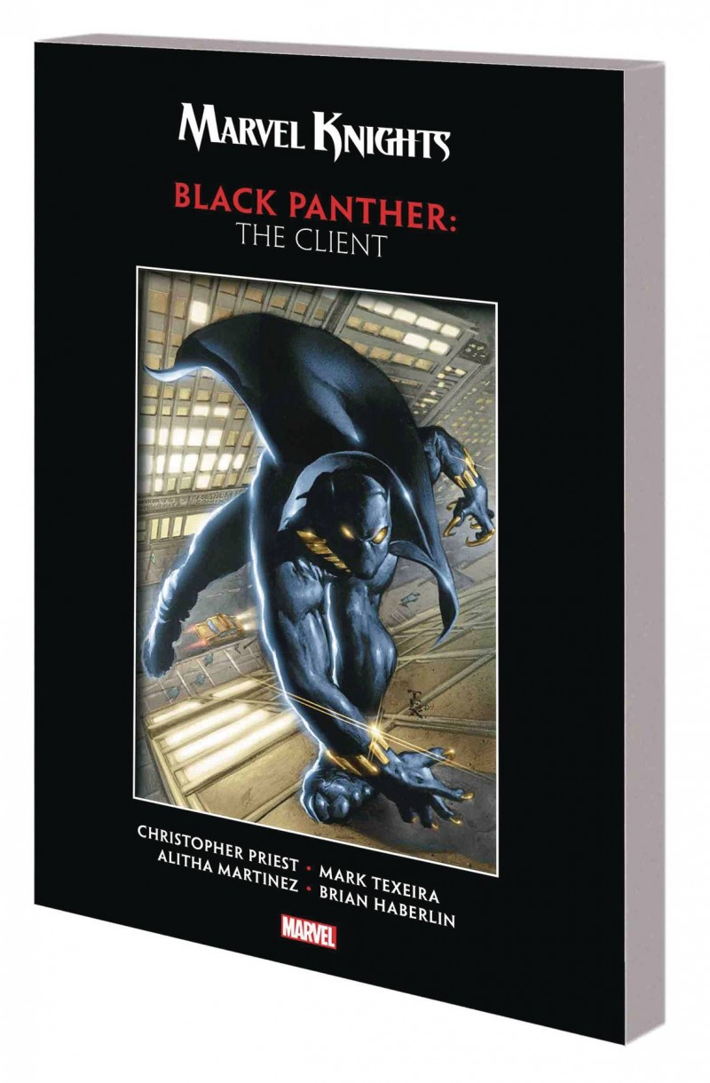 Marvel Knights Black Panther TP Priest and Texeira