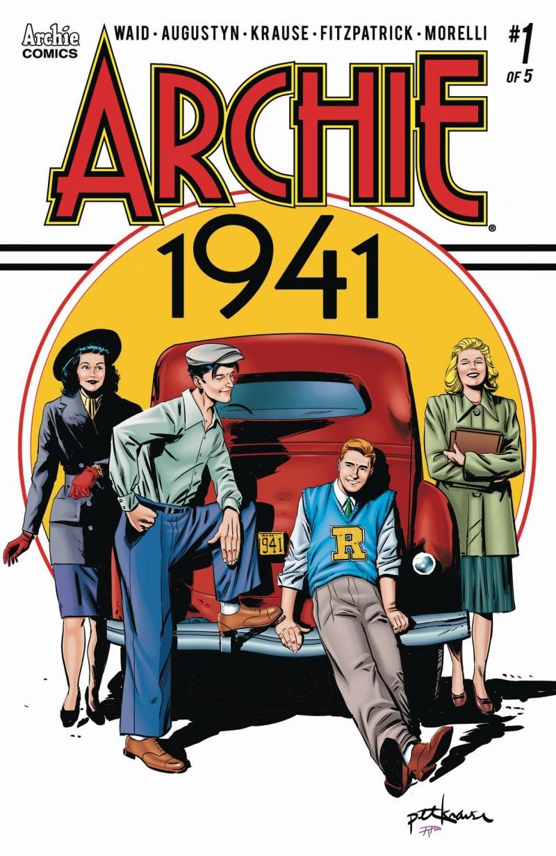 Archie 1941 #1 CVR A Krause