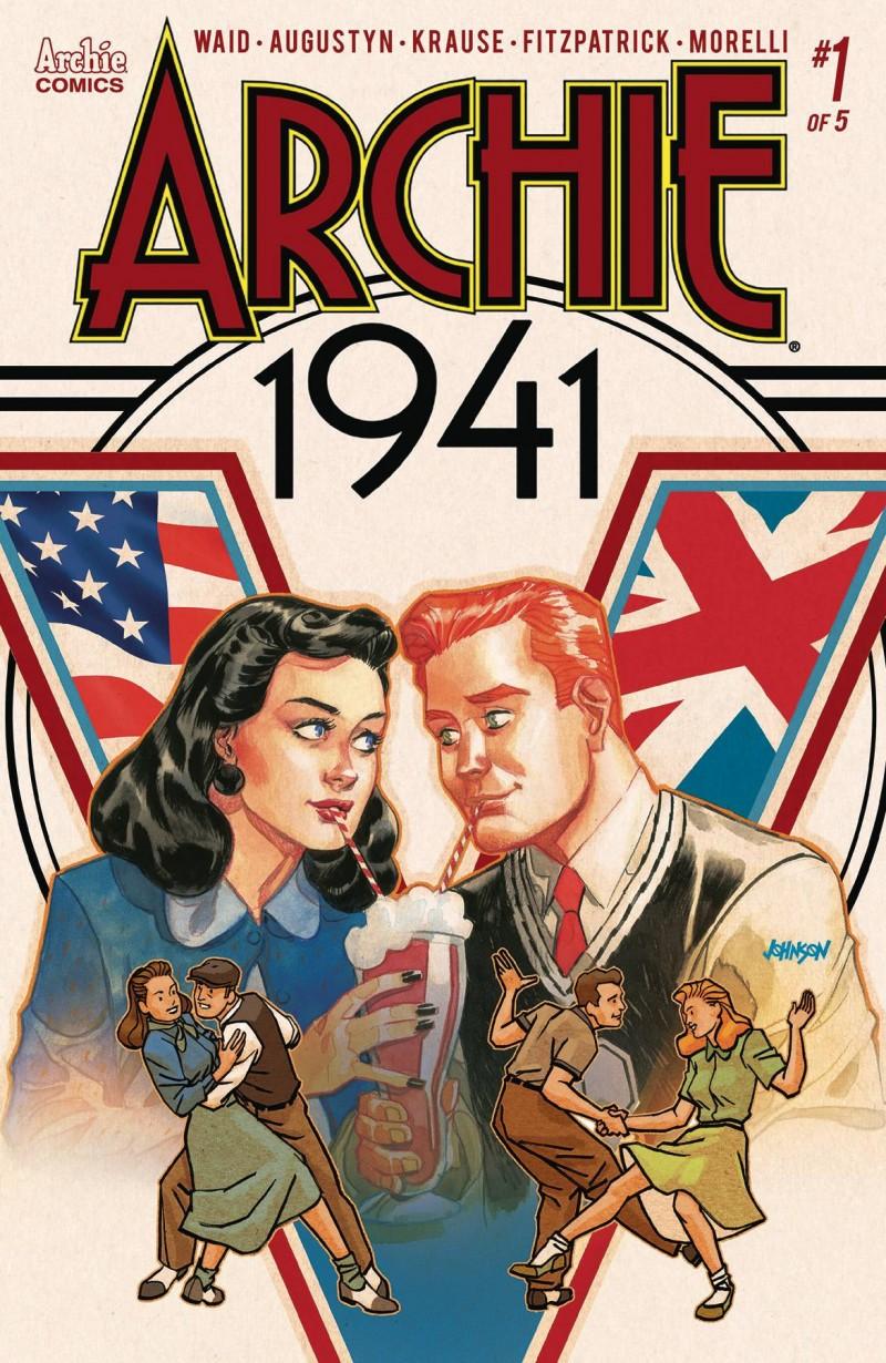Archie 1941 #1 CVR D Johnson