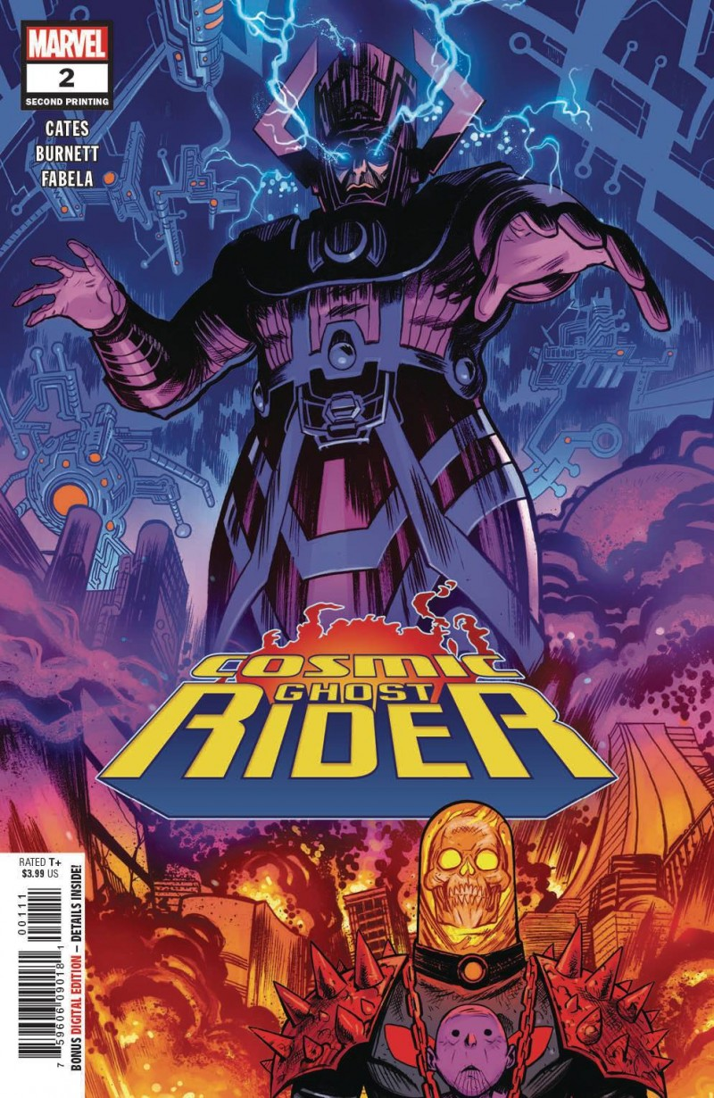 Cosmic Ghost Rider #2 Second Printing