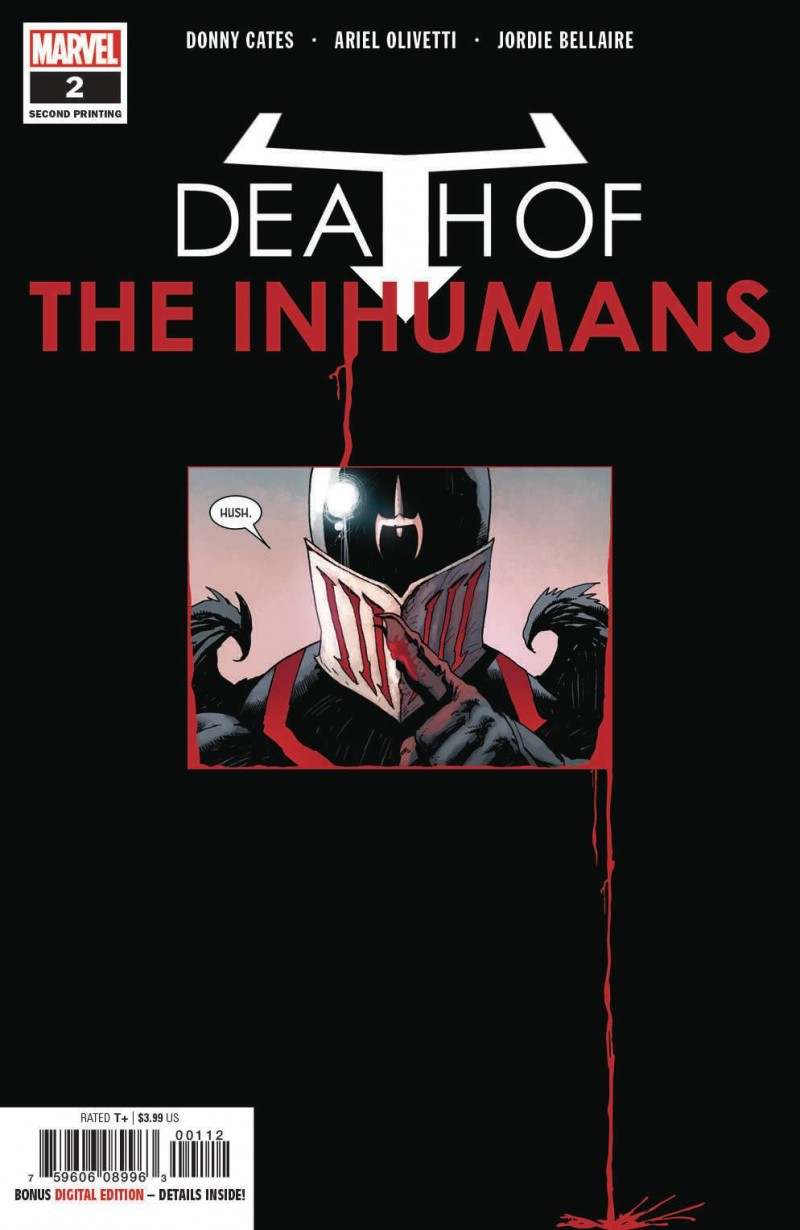 Death of Inhumans #2 Second Printing