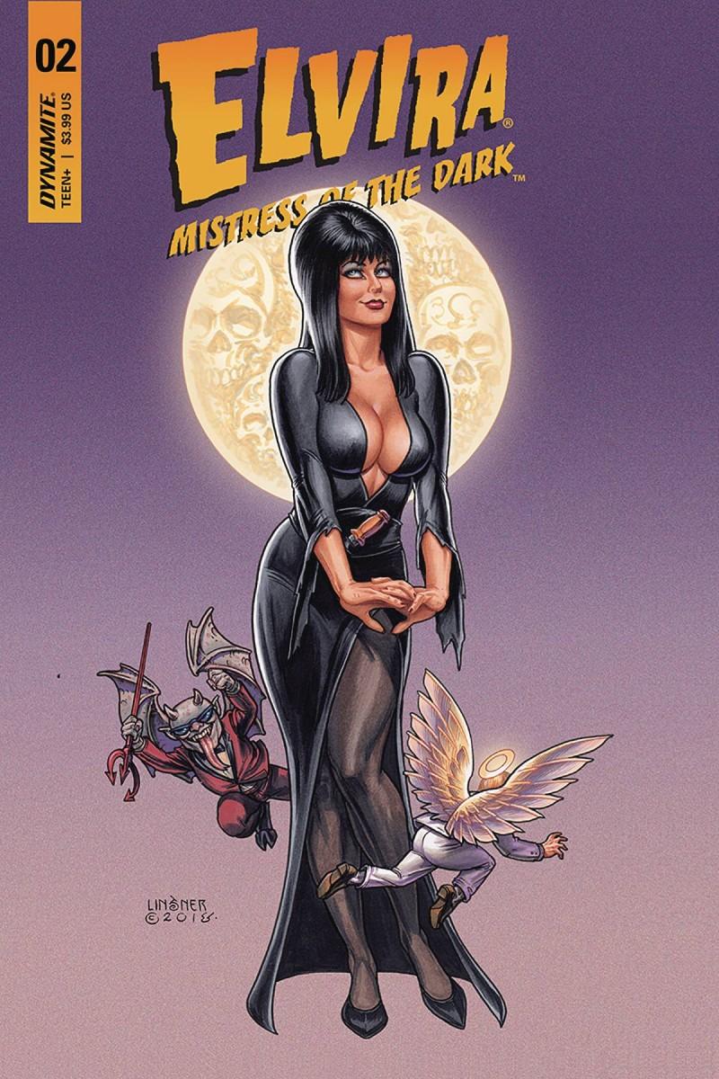 Elvira Mistress of Dark #2 CVR A Linsner