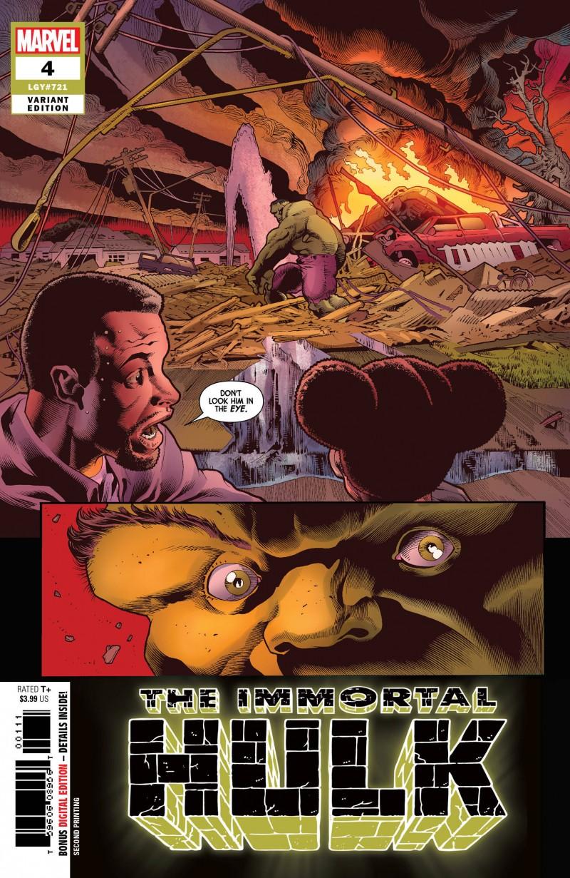 Immortal Hulk #4 Second Printing