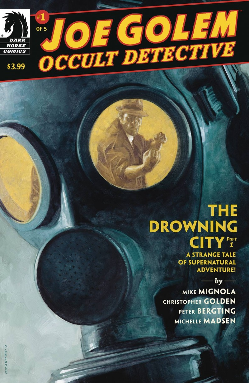 Joe Golem the Drowning City #1