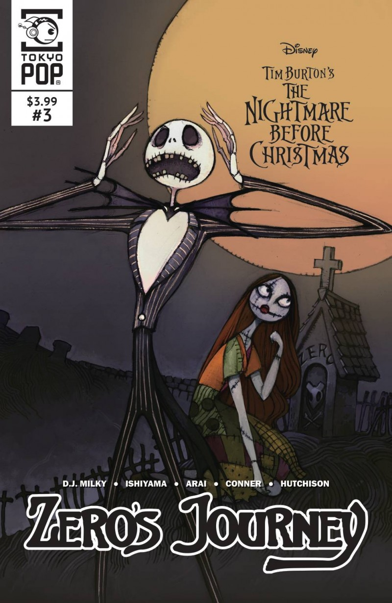 Nightmare Before Christmas Zeros Journey #3