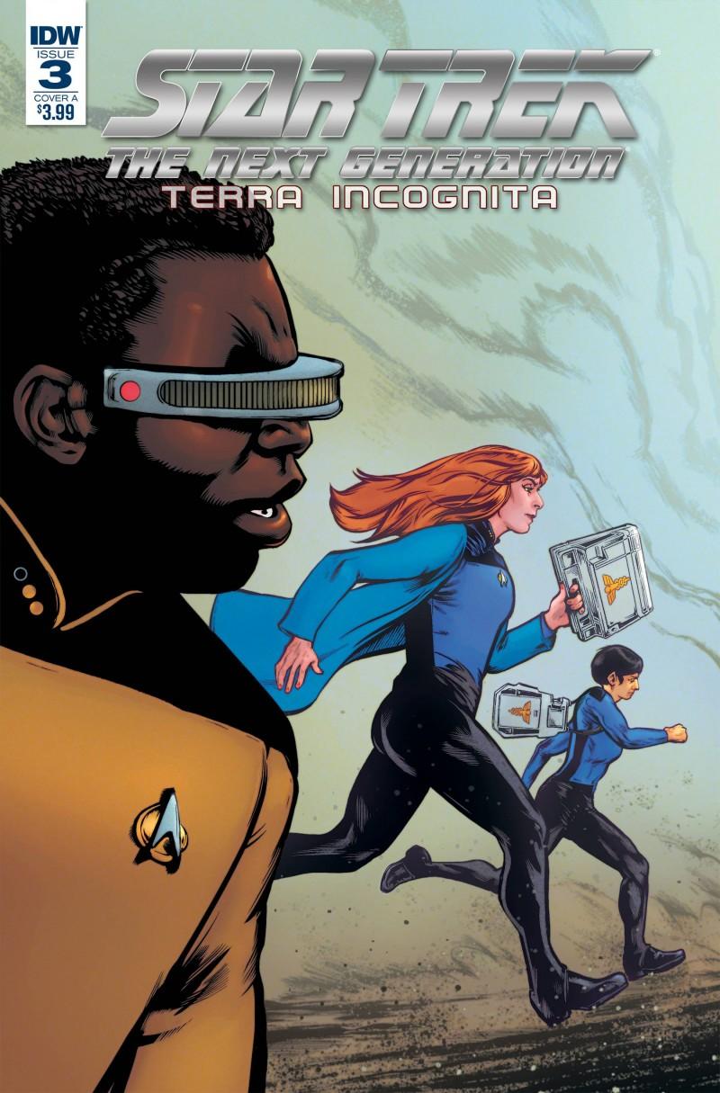 Star Trek TNG Terra Incognita #3 CVR A