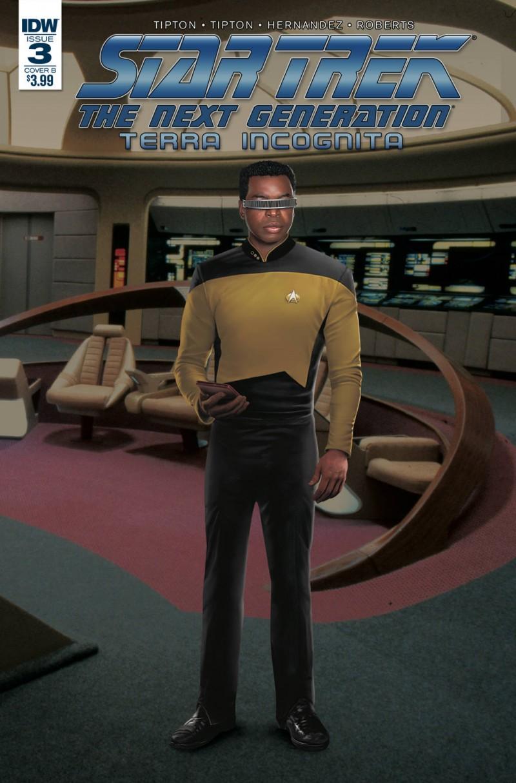 Star Trek TNG Terra Incognita #3 CVR B