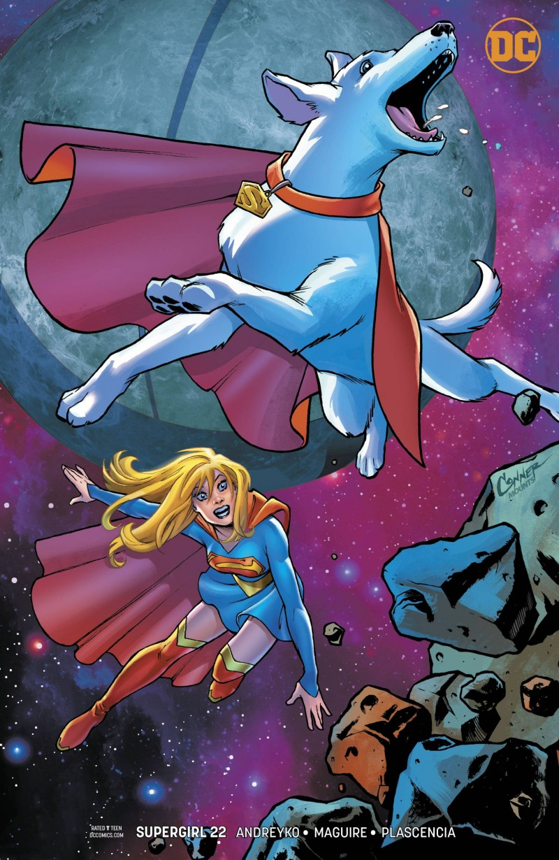 Supergirl V7 #22 CVR B
