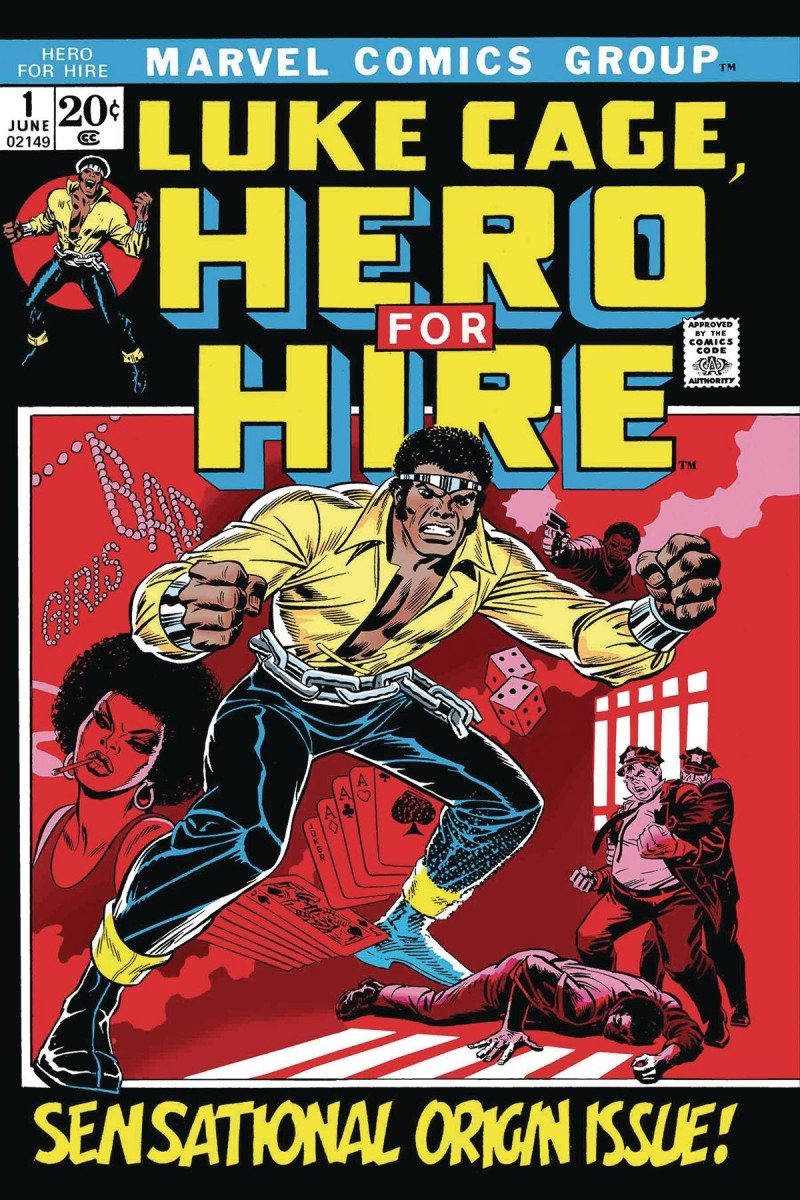 True Believers One-Shot Luke Cage Hero For Hire