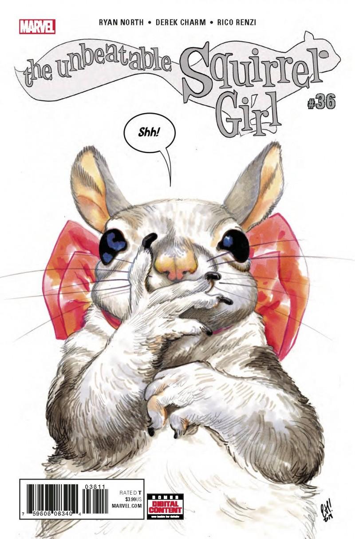 Unbeatable Squirrel Girl  #36