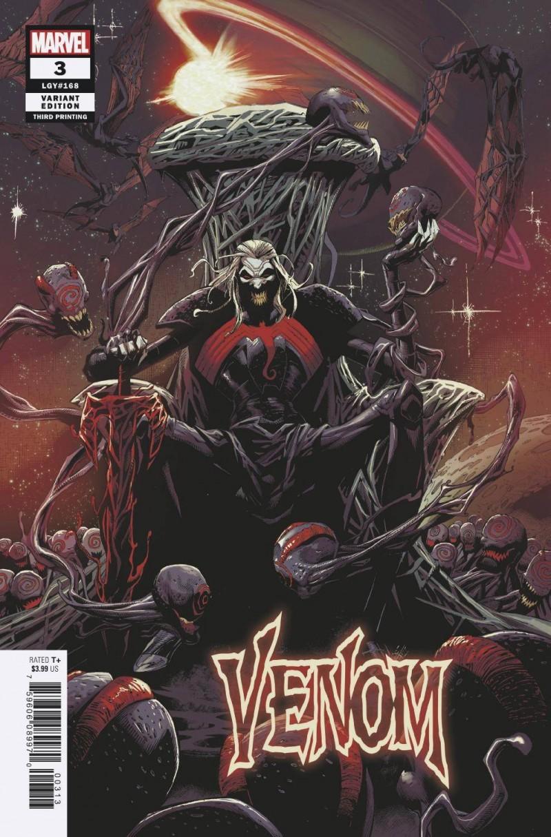Venom V4 #3 Third Printing