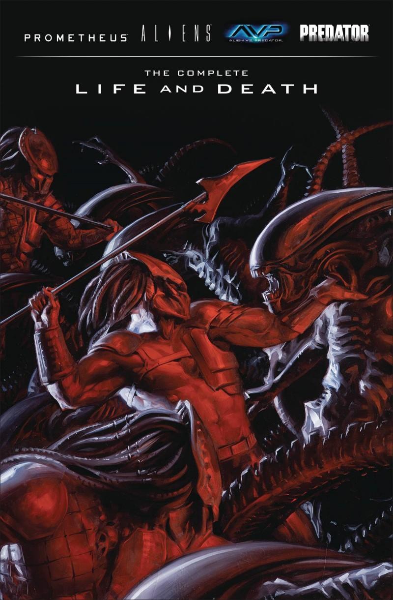 Aliens Predator Prometheus AVP HC Complete Life Death