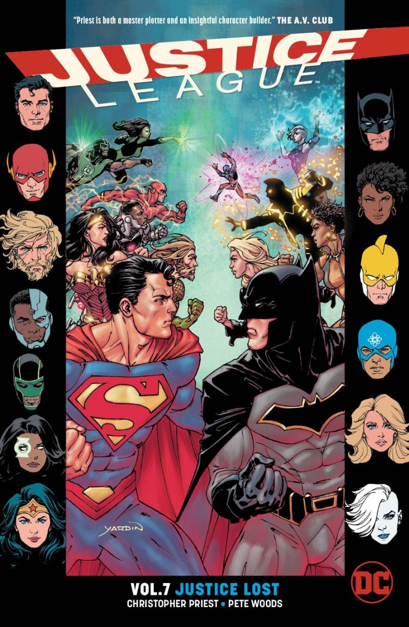Justice League TP Rebirth V7 Justice Lost