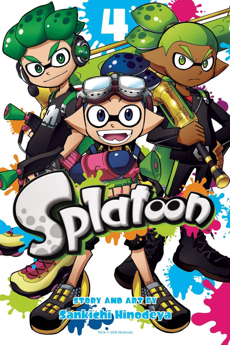 Splatoon Manga GN V4