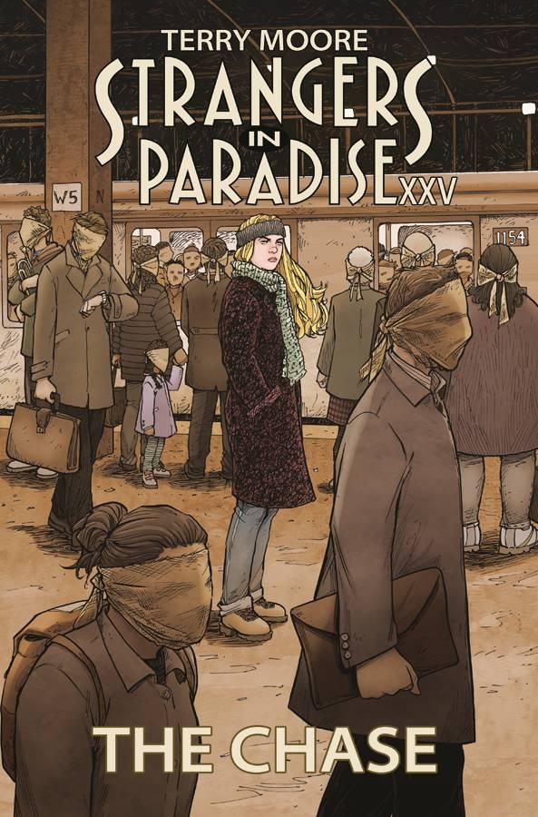 Strangers In Paradise XXV TP V1 the Chase
