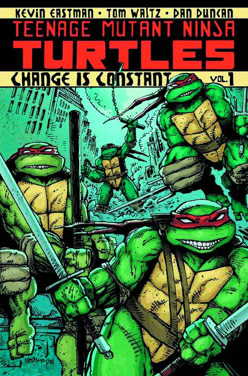 TMNT TP Ongoing V1 Change Is Constant