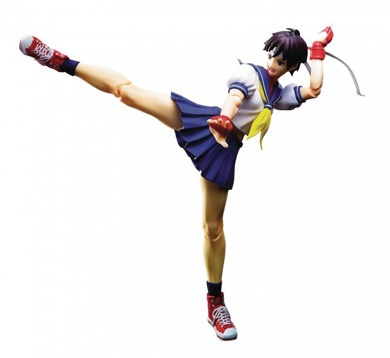 Street Fighter SHFigurarts AF Sakura Kasugano