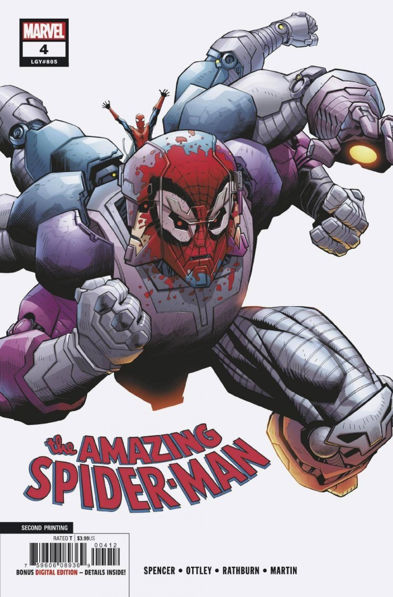 Amazing Spider-Man V5 #4 Second Printing
