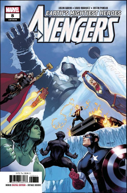Avengers V7 #8