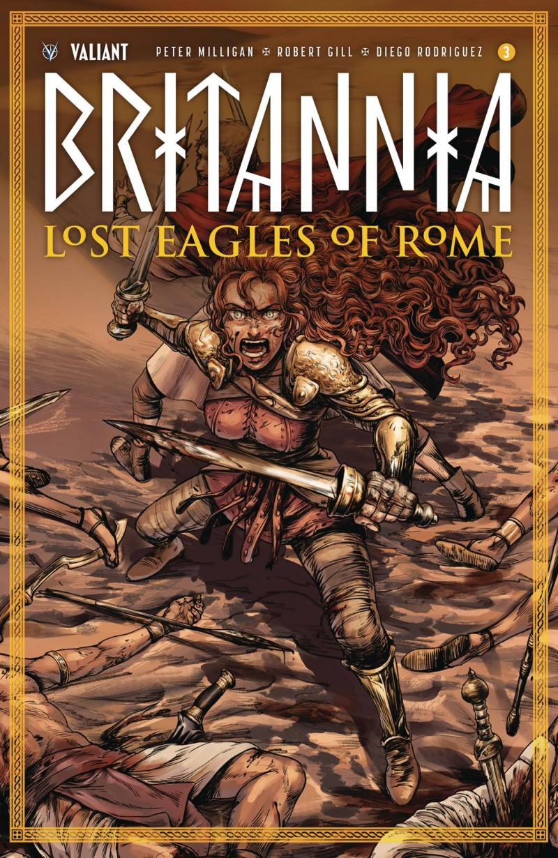 Britannia Lost Eagles of Rome #3 CVR A Kim