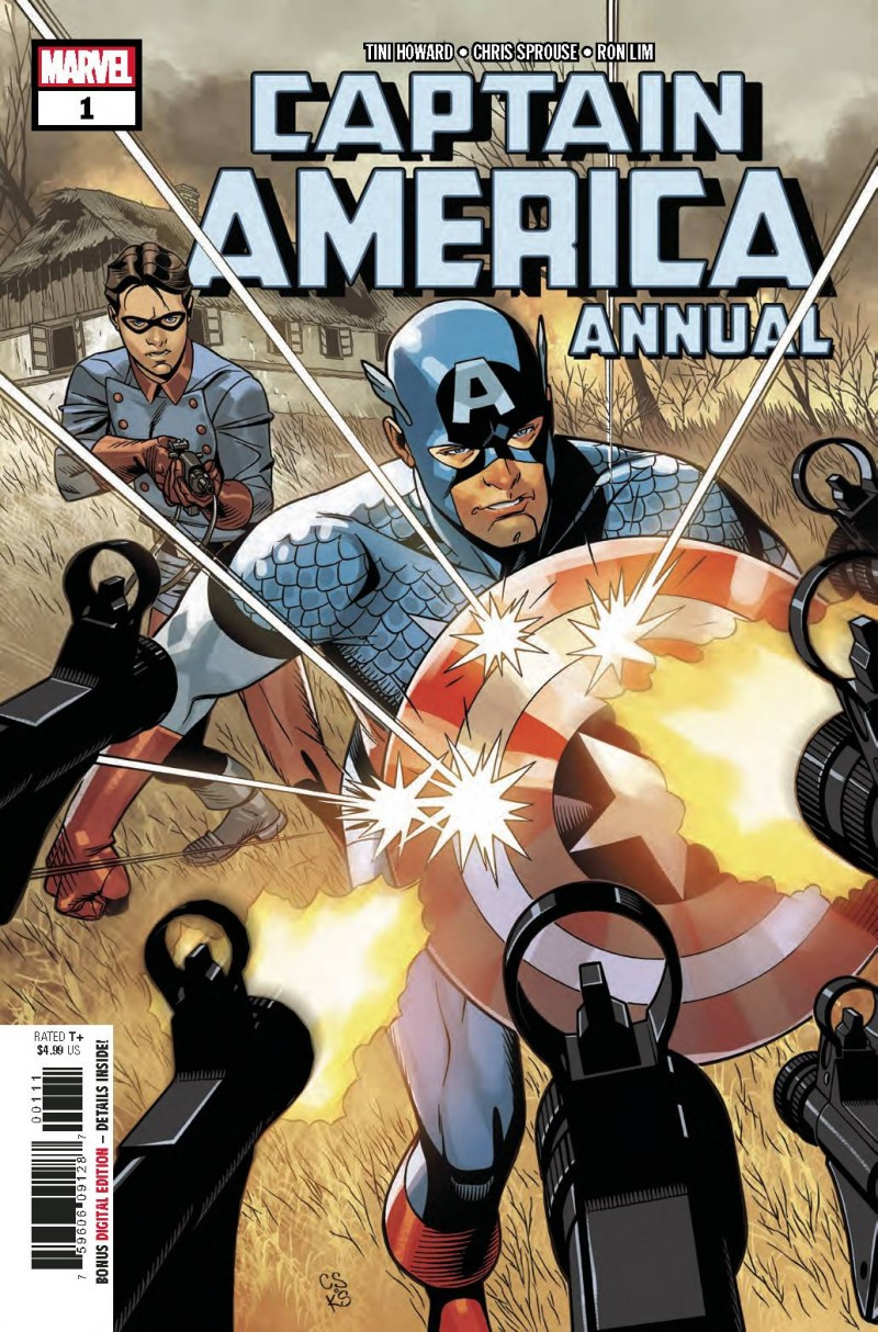 Captain America V8 Annual #1