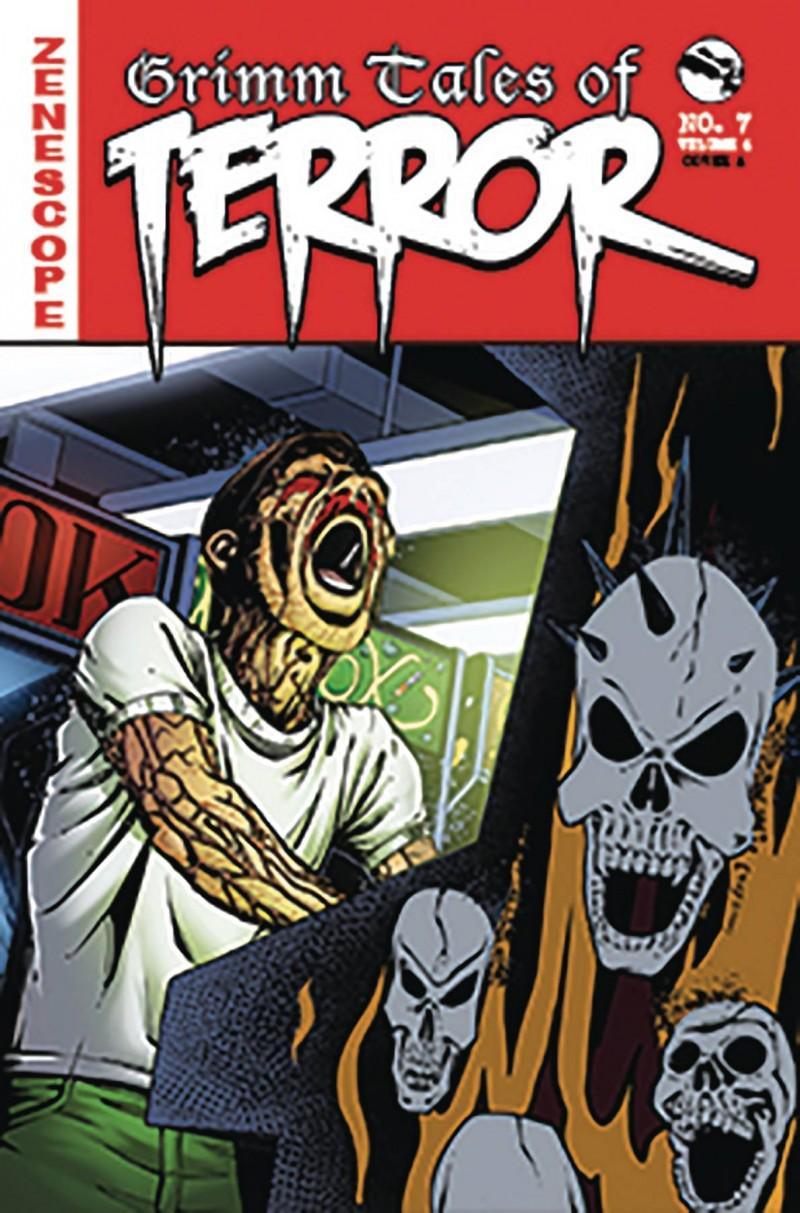 GFT Tales of Terror  #7 CVR A Eric J