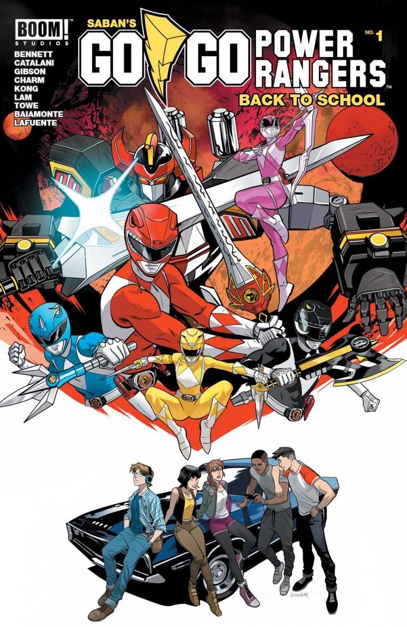 Go Go Power Rangers One-Shot Back To School