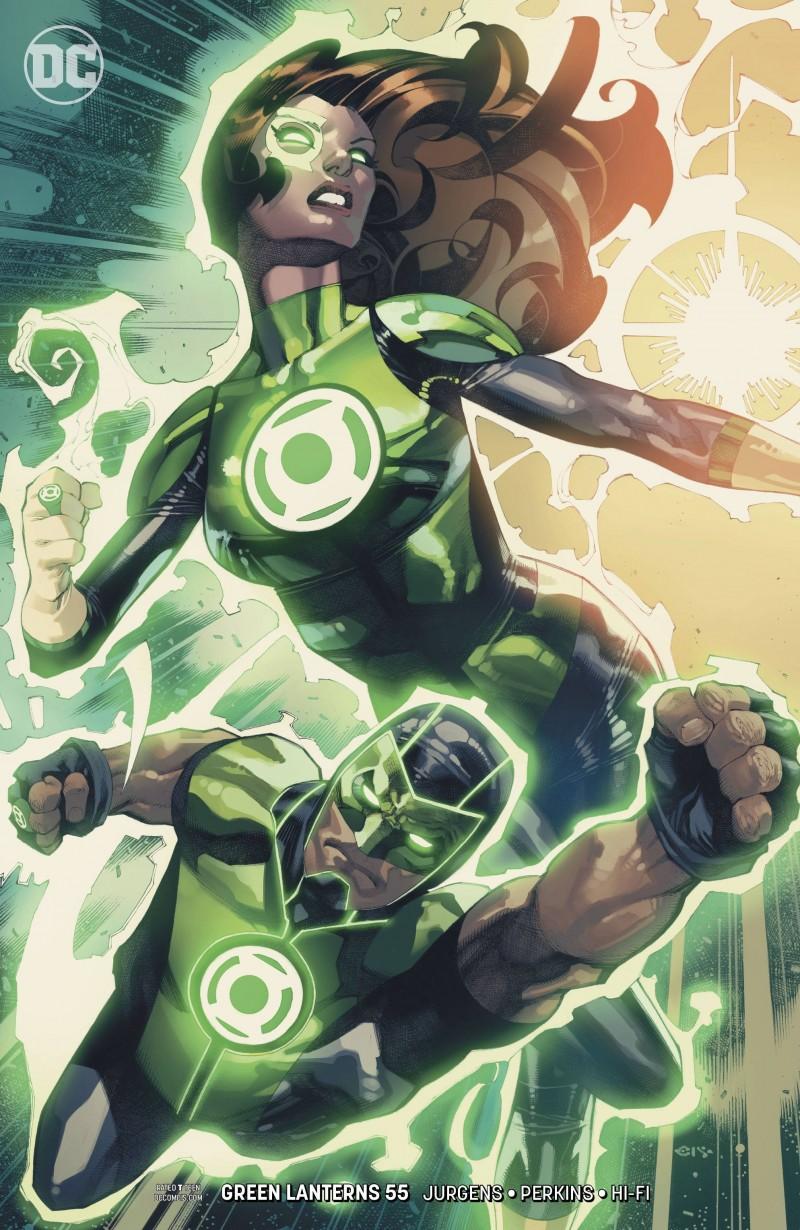 Green Lanterns #55 CVR B
