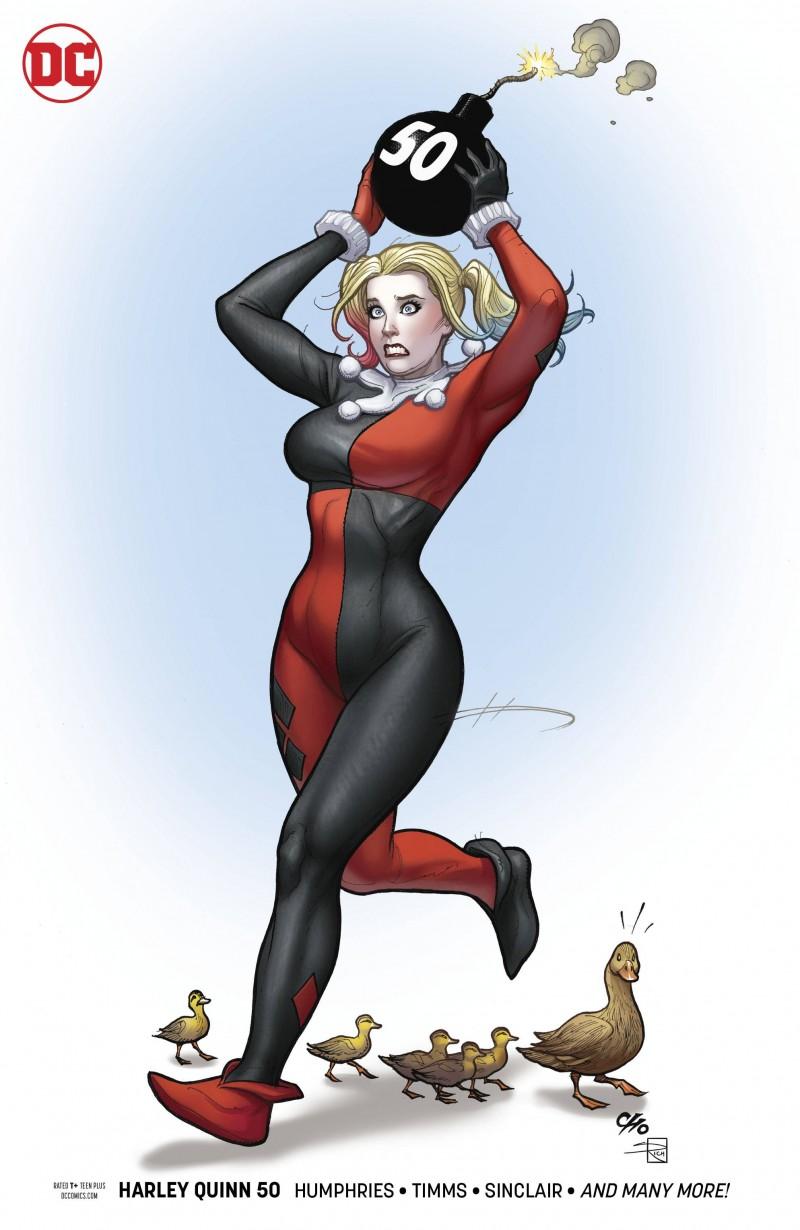 Harley Quinn  #50 CVR B