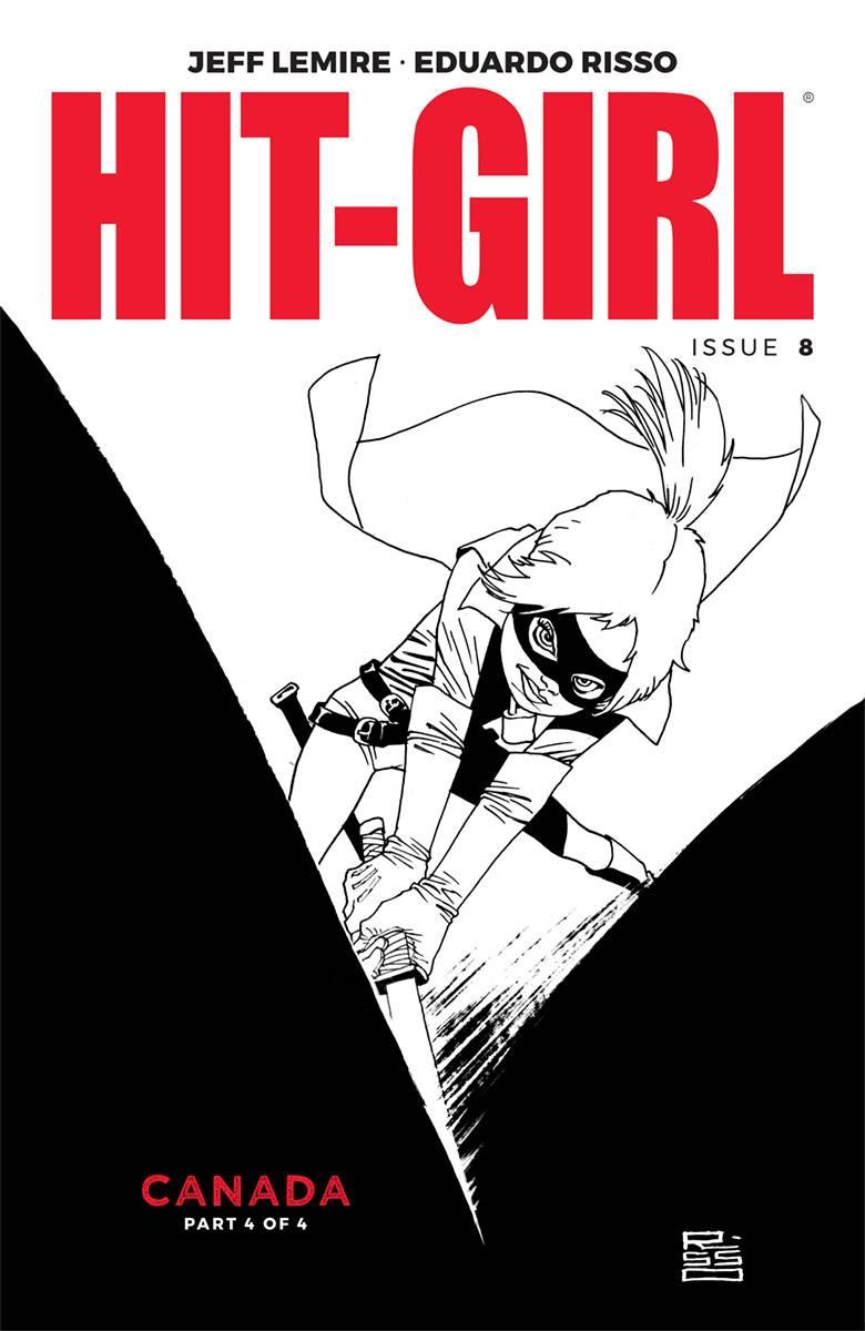 Hit-Girl V2 #8 CVR B Risso