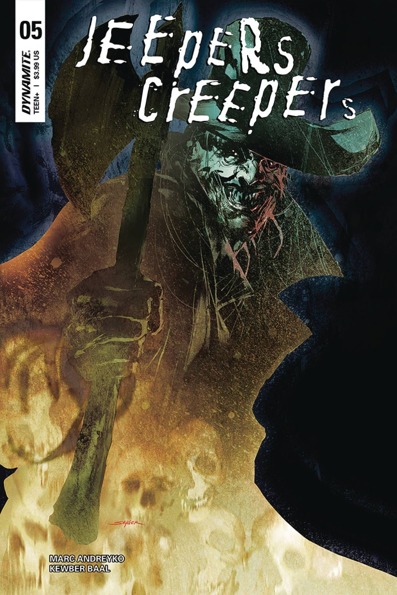 Jeepers Creepers #5 CVR A Sayger