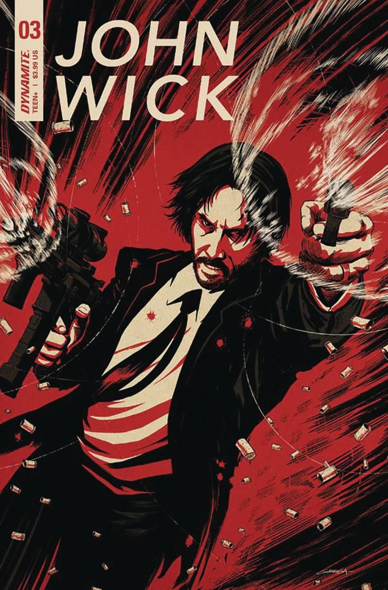 John Wick #3 CVR B Garriga
