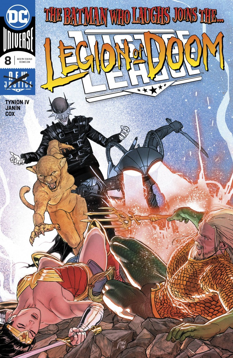 Justice League V3 #8 CVR A