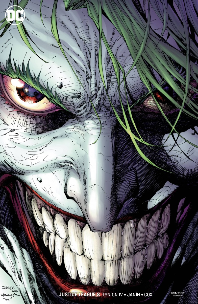 Justice League  #8 CVR B