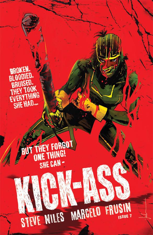 Kick-Ass  #7 CVR D Jock