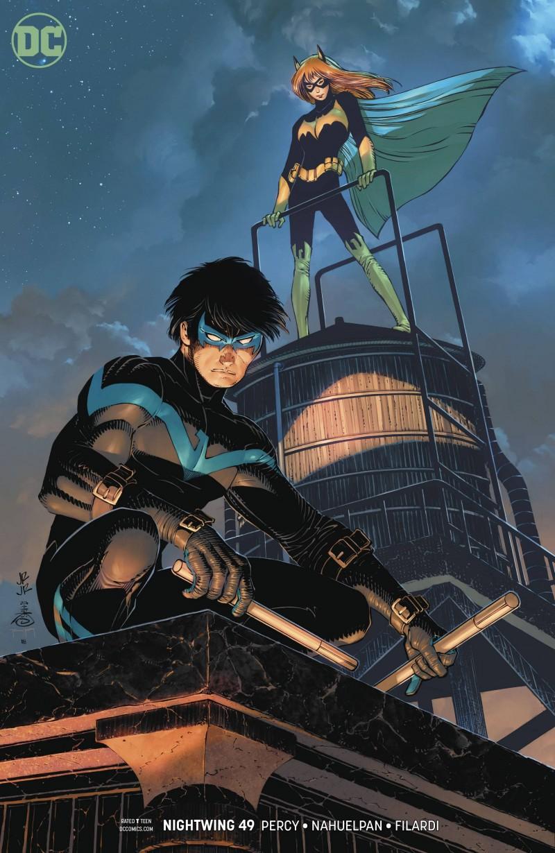 Nightwing  #49 CVR B