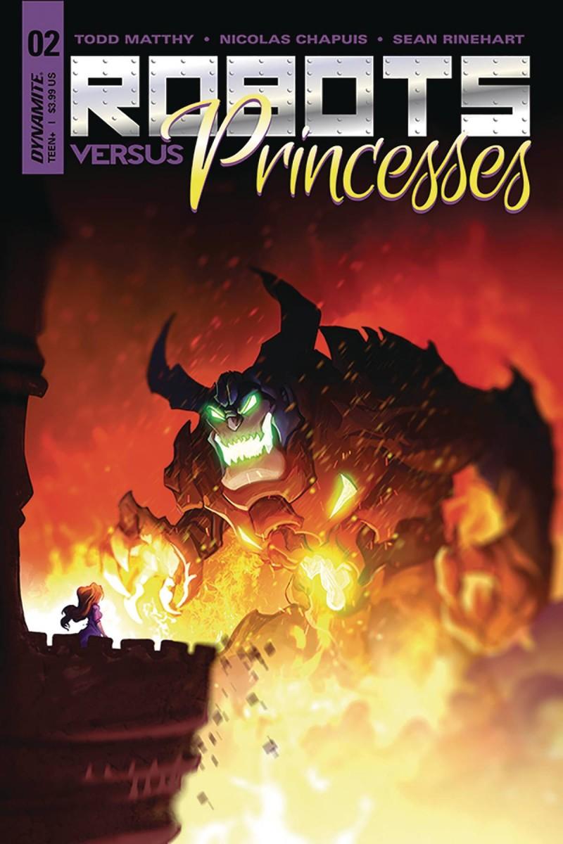 Robots Vs Princesses #2