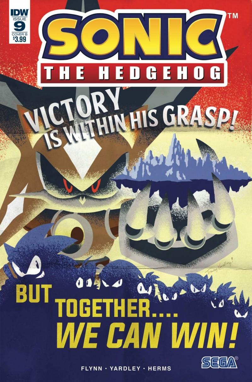 Sonic the Hedgehog V2 #9 CVR B Yardley