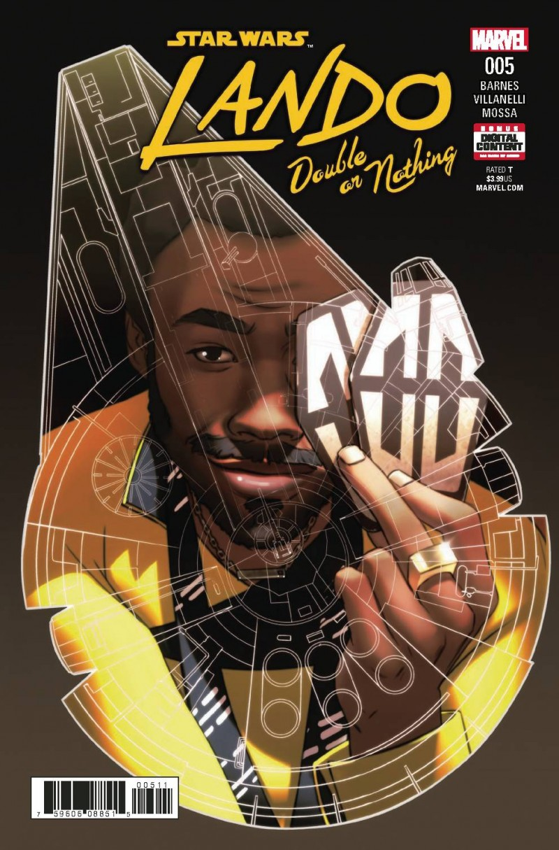 Star Wars Lando Double or Nothing #5